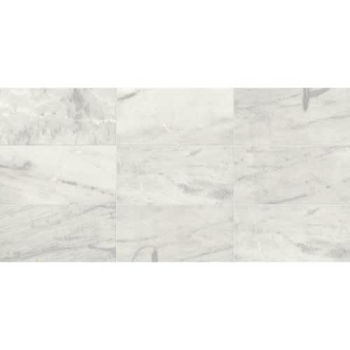 Yukon White  3x6 Honed