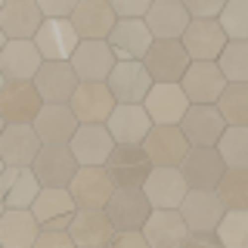 Sande in Cream 2x2 Hex - Tile by MSI Stone