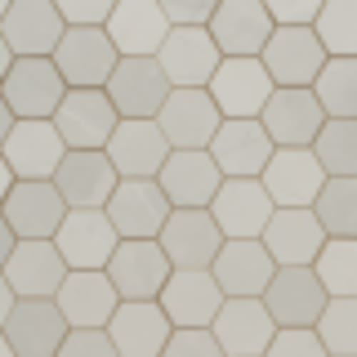 Sande in Ivory 2x2 Hex - Tile by MSI Stone