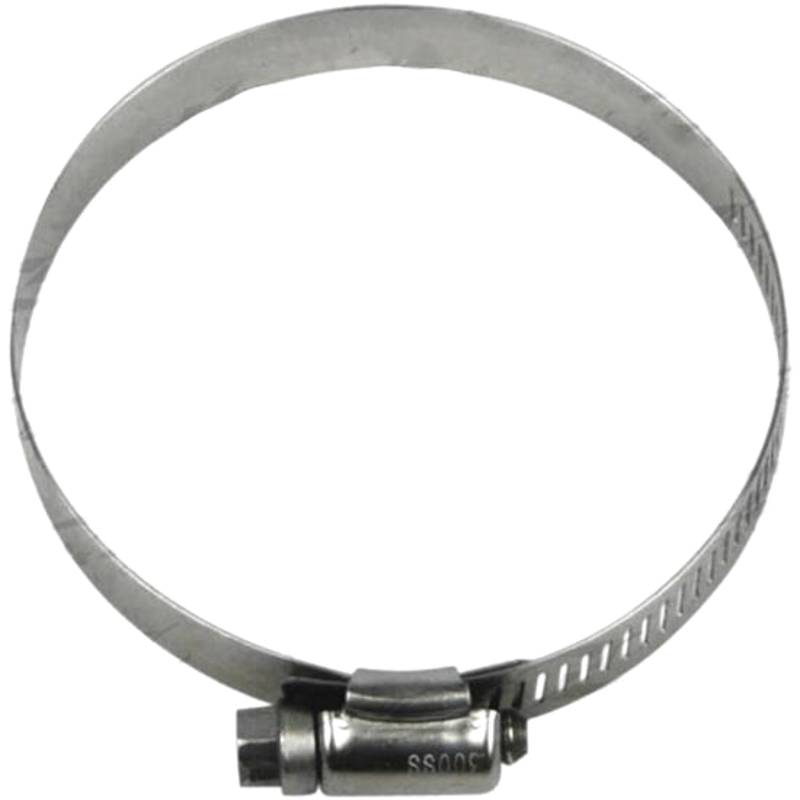 """Redback Worm Drive Hose Clamp  (3-1/2"""" - 4-1/2"""") Stainless (W 12.5mm)"""
