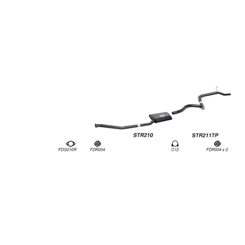 Redback Sports System to suit Ford Falcon, Fairmont (01/1992 - 09/2002)