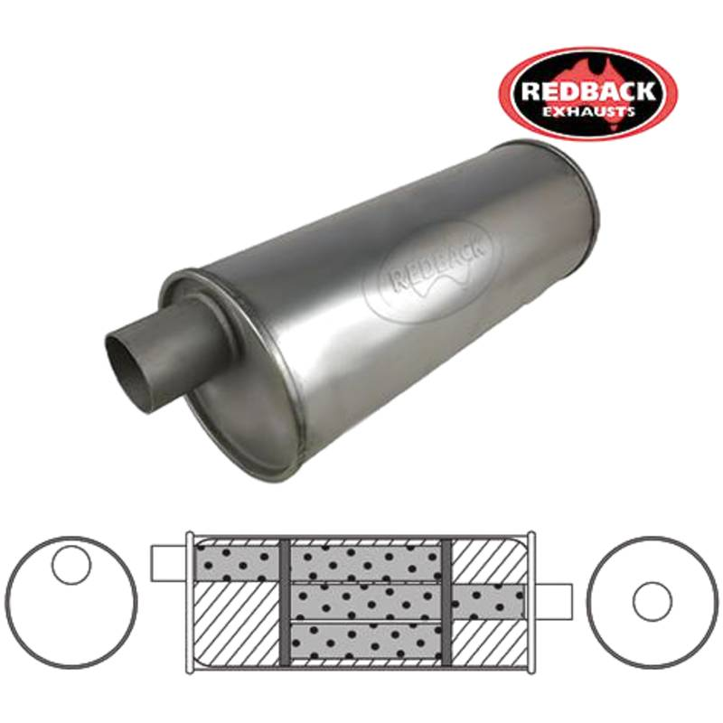 """6"""" Round, 16"""" Long, 1 3/4"""" Offset/Centre - Triflow"""