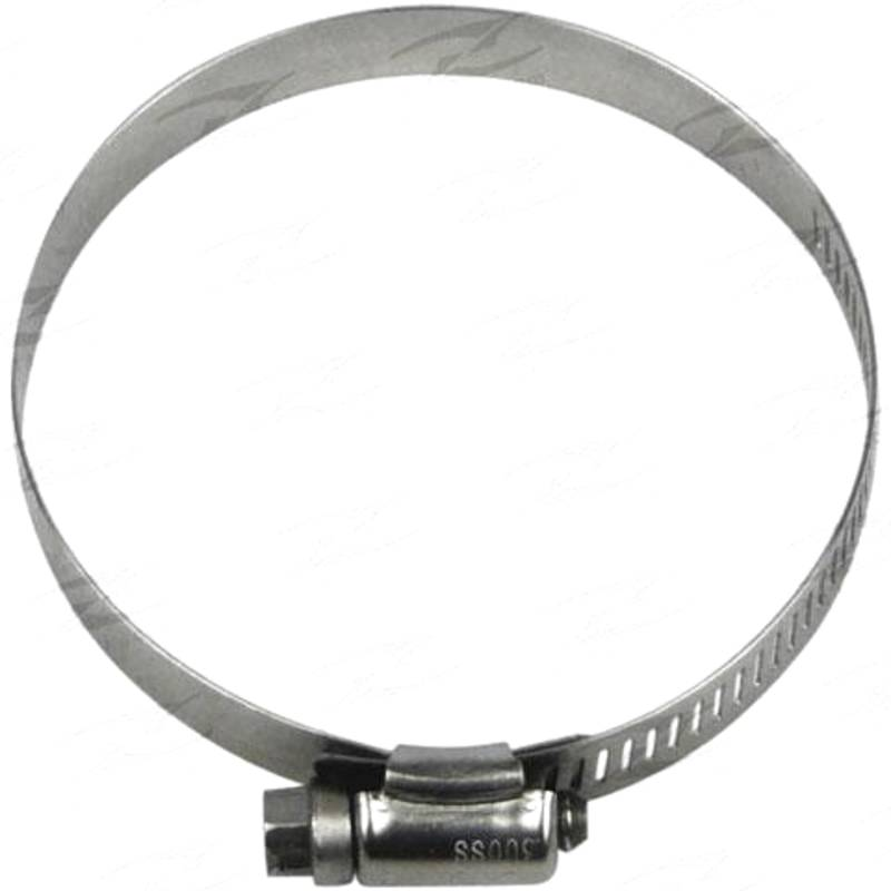"""Worm Drive - ID 3-1/8"""" - 4"""", W 12.5mm, Stainless"""