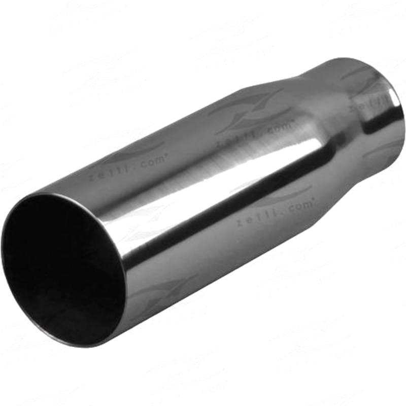 "In 51mm(2""), Out 54mm(2-1/8""), L 200mm(8""), Stainless, SC345"