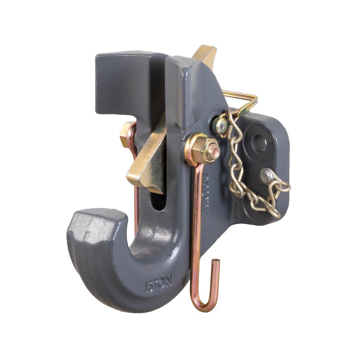 CURT SecureLatch™ Pintle Hook 13.5t Pintle Hook (Flat Mount)