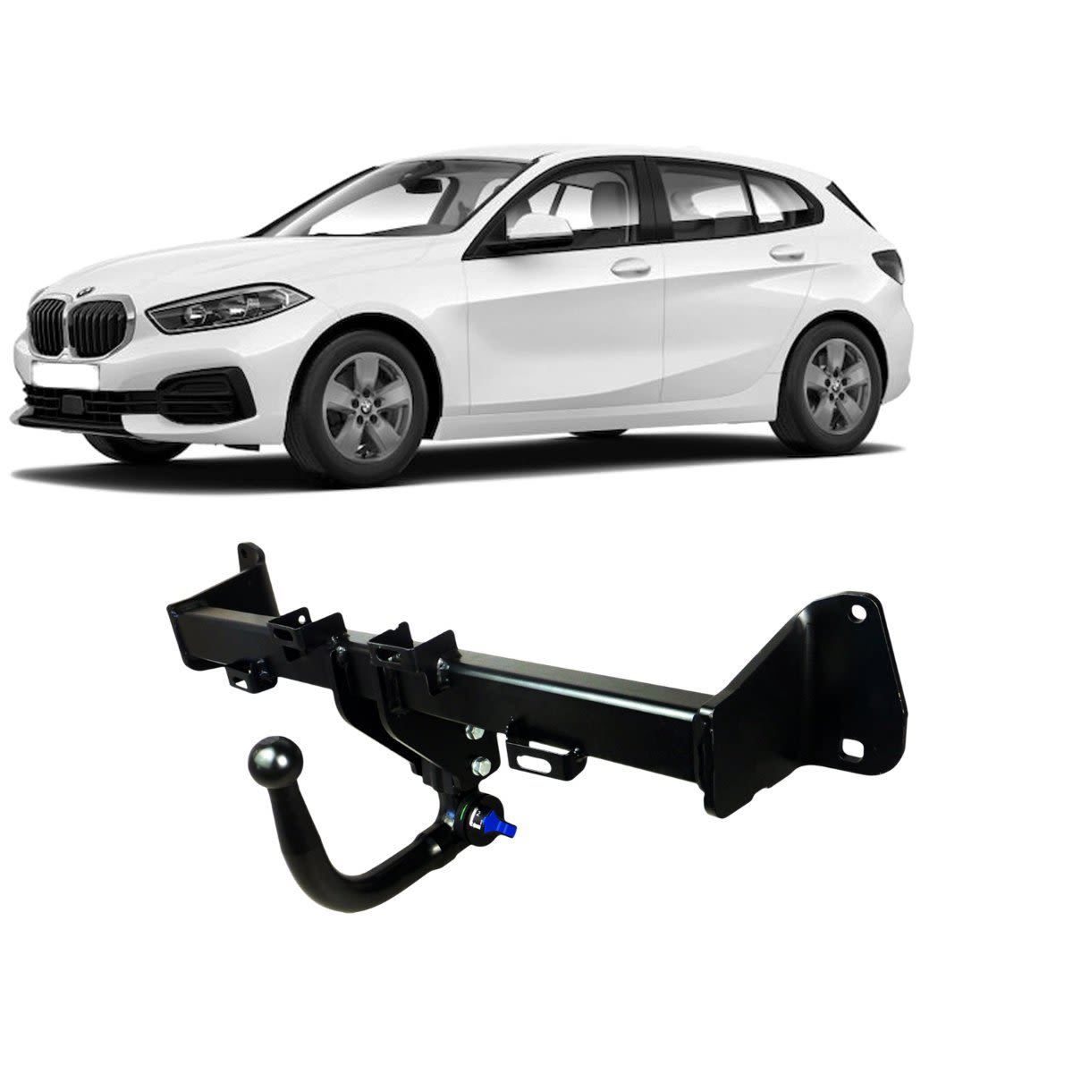 TAG Towbars European Style Tongue to suit BMW 1 (01/2011 - on)