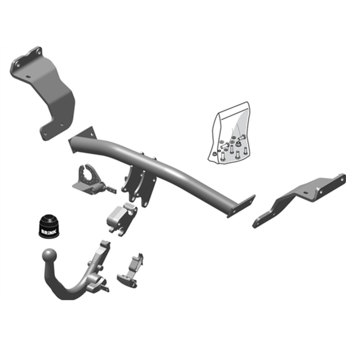 Brink Towbar to suit Hyundai i30 (05/2012 - on), KIA Cee'd (09/2012 - 05/2020)