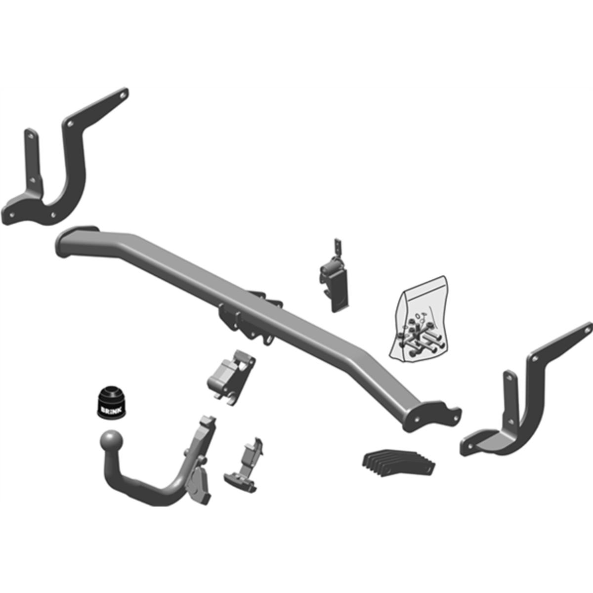 Brink Towbar to suit Peugeot 308 (01/2014 - 11/2017)