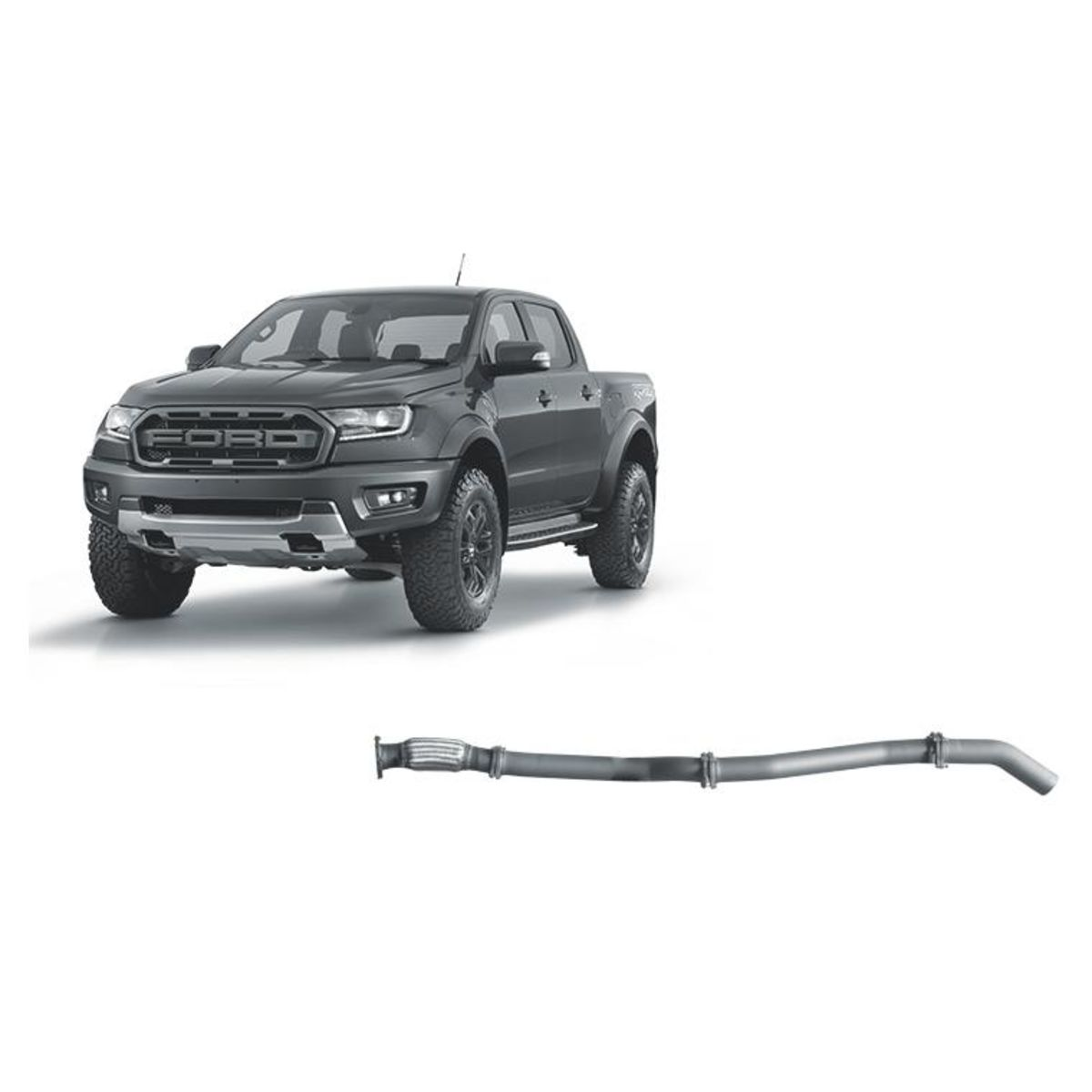 Redback Extreme Duty Exhaust to suit Ford Raptor 2.0L Bi-Turbo (10/2018 - On)