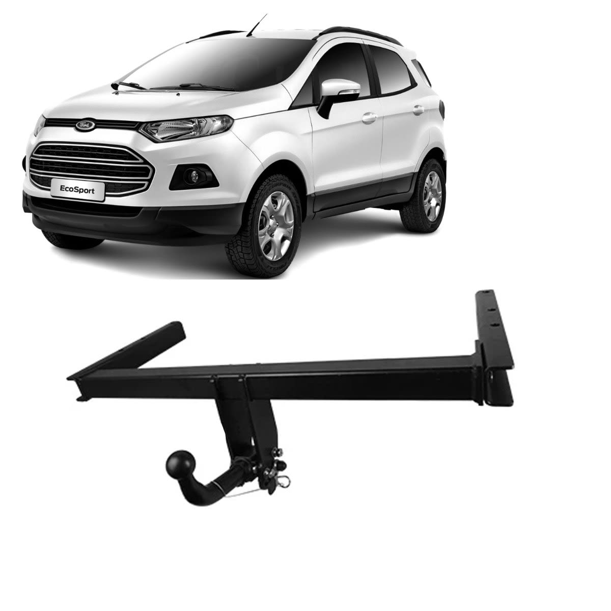 TAG Euro Towbars European Style Tongue to suit Ford ECOSPORT (12/2017 - on)