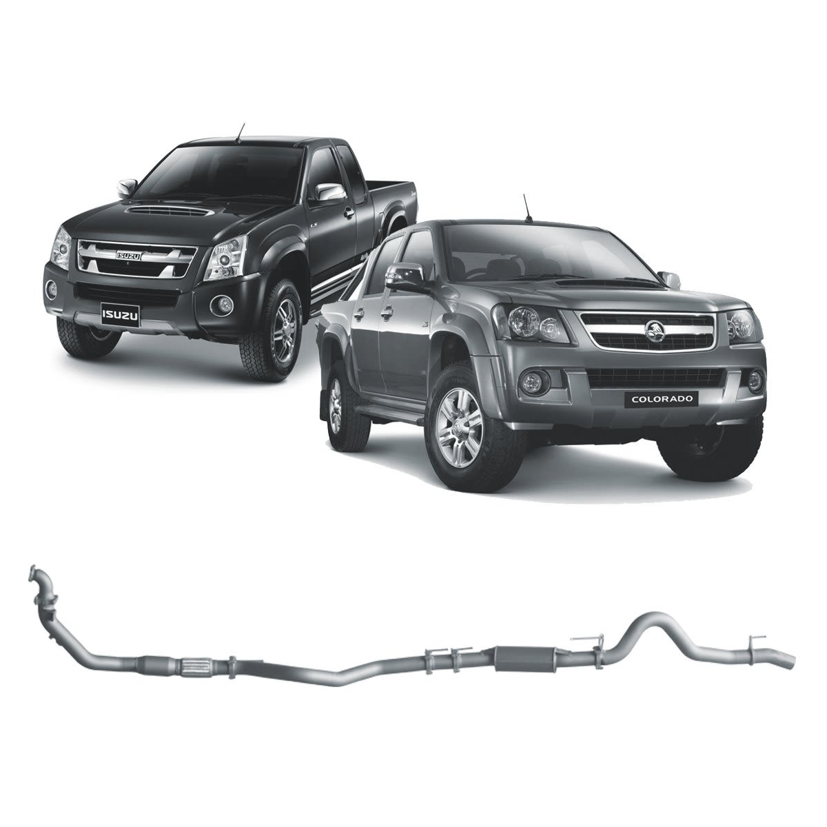 Redback Extreme Duty to suit Holden Rodeo (01/2007 - 06/2008), Colorado (03/2008 - 06/2012), Isuzu D-MAX (01/2007 - 08/2012)