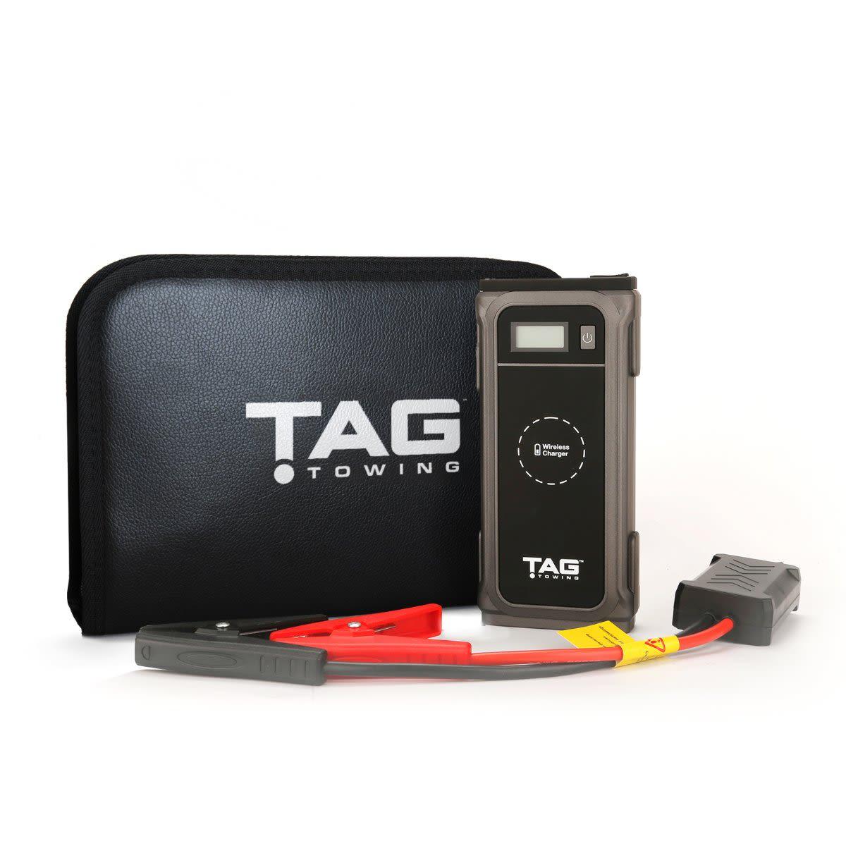 TAG Portable Jump-Starter & Multifunction Charger 12000mAh