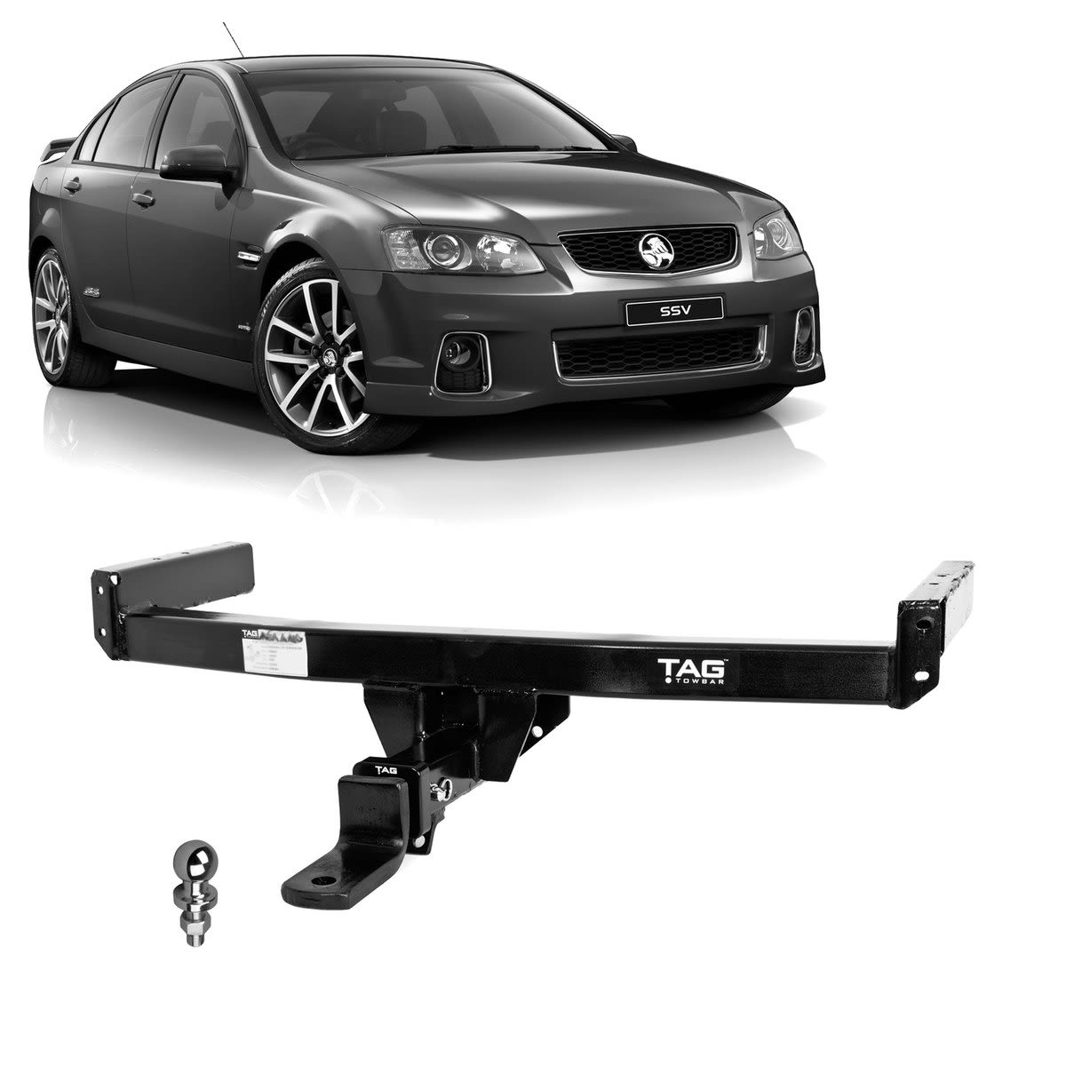 TAG Heavy Duty Towbar to suit Holden Commodore (01/2006 - 10/2017)