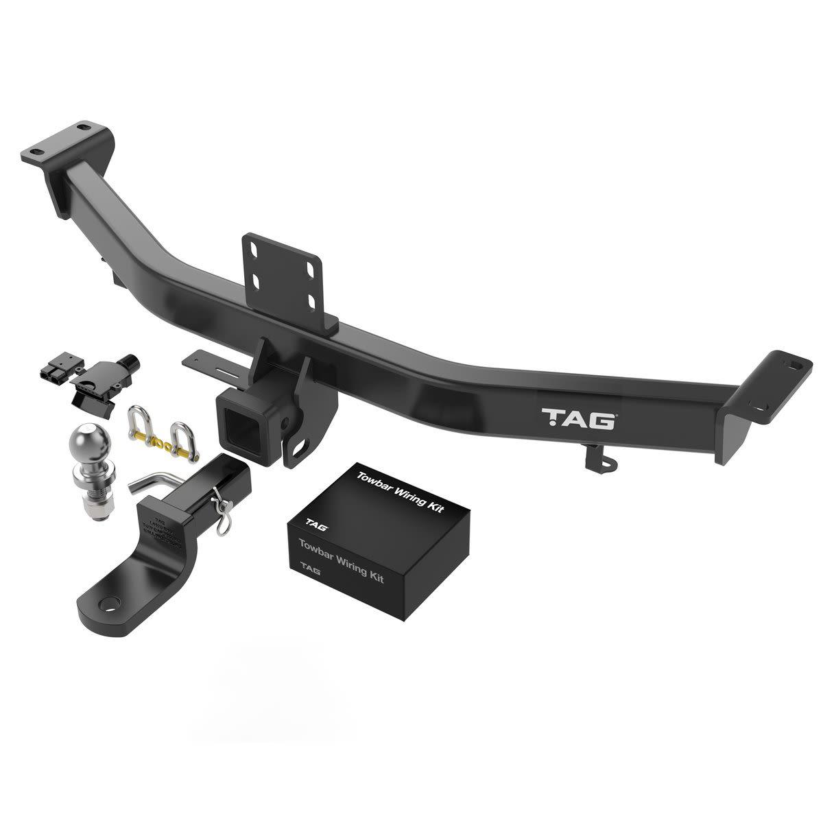 TAG Heavy Duty Towbar to suit KIA Sportage (08/2010 - 01/2016) - No Wiring Harness