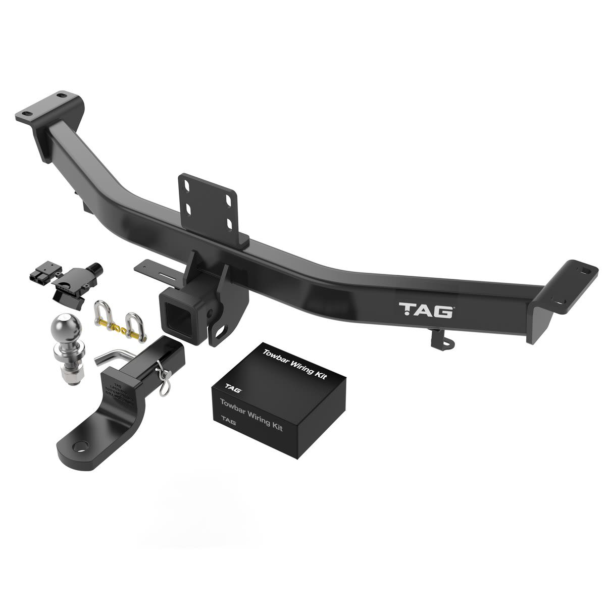 TAG Heavy Duty Towbar to suit Lexus LX (03/1998 - 10/2007), Toyota Landcruiser (03/1998 - 10/2007) - Direct Fit Bypass Wiring Harness