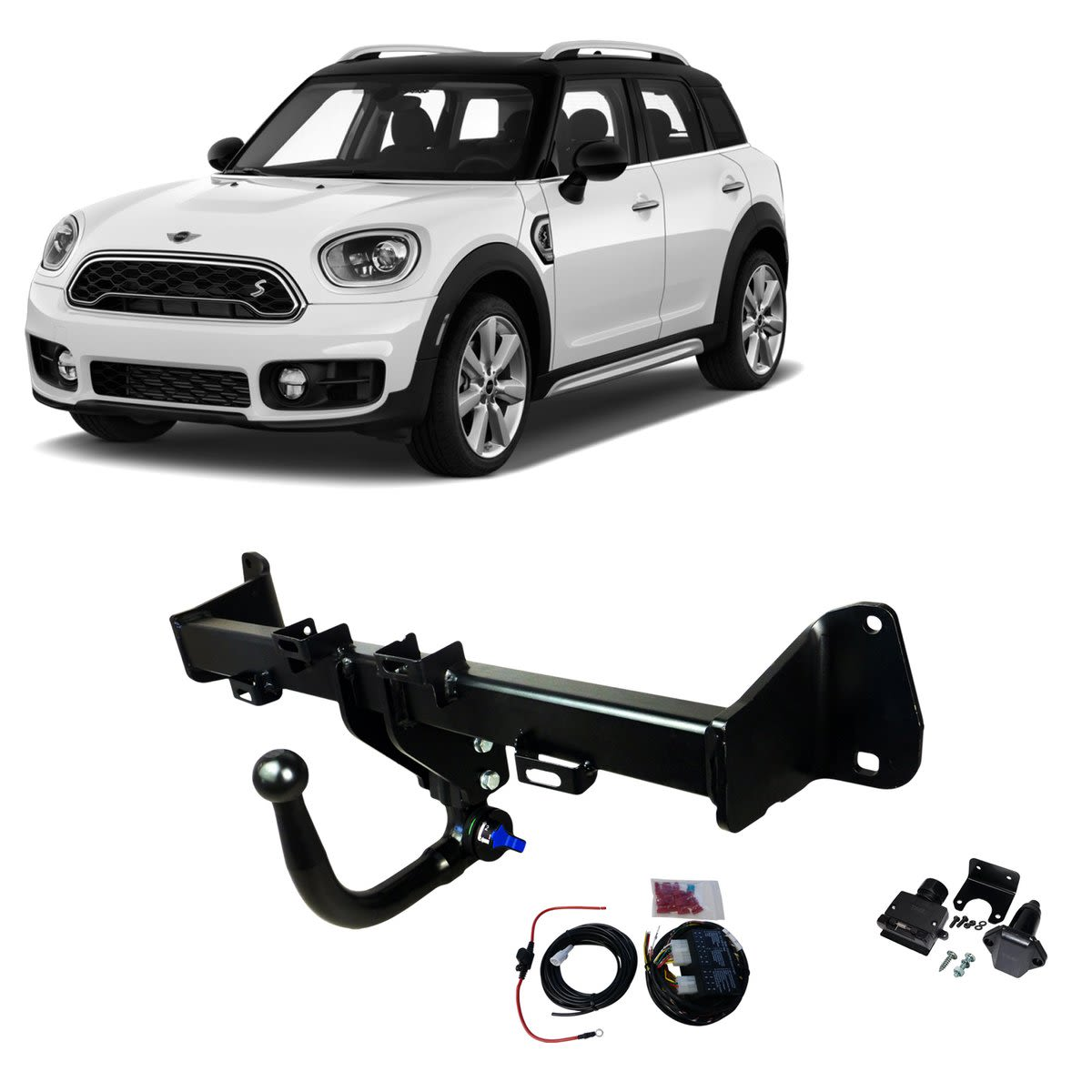 TAG Towbars European Style Tongue to suit Mini Cooper (11/2015 - 01/2019), Cooper S (11/2015 - 01/2019), Countryman (02/2017 - on)