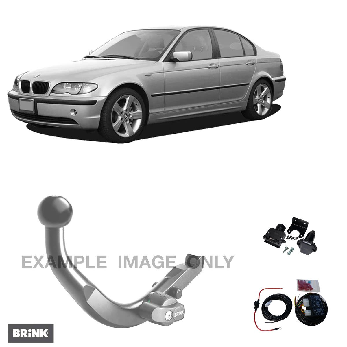 Brink Towbar to suit BMW 3 (01/1998 - 01/2006)