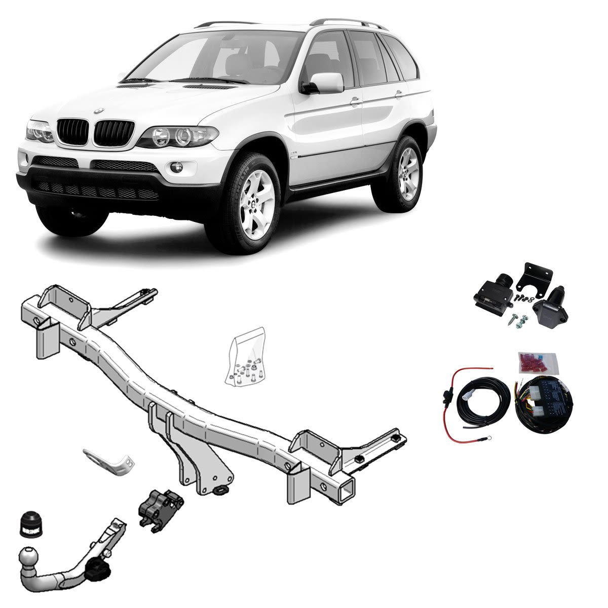 Brink Towbar to suit BMW X5 (11/2000 - 02/2007)