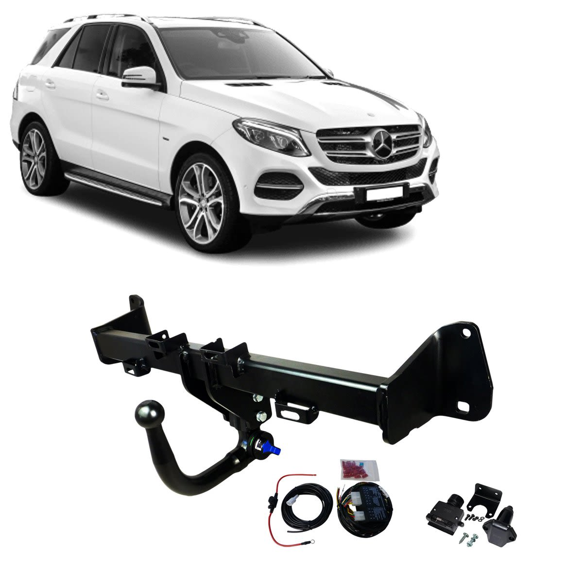 TAG Towbars European Style Tongue to suit MERCEDES-BENZ GLE-CLASS (05/2019 - on)