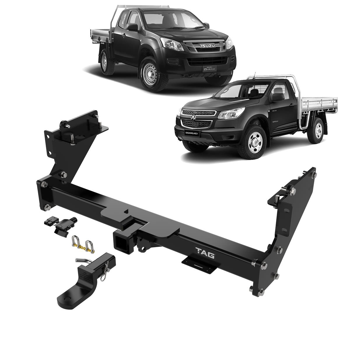 TAG Heavy Duty Towbar to suit Holden Colorado (01/2012 - on)