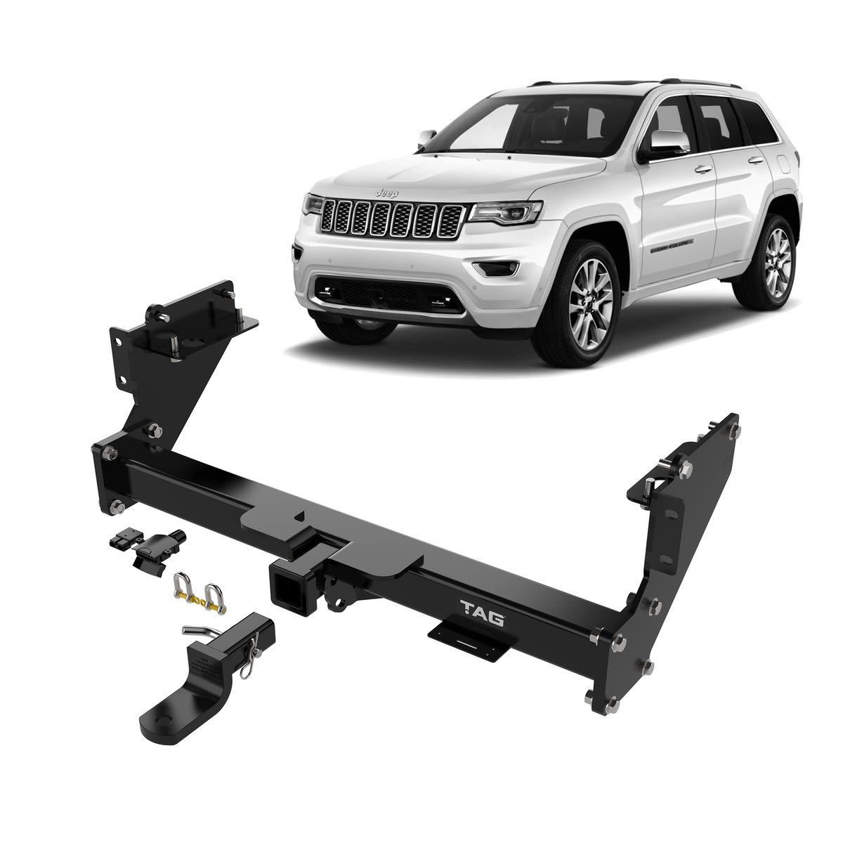 TAG Heavy Duty Towbar to suit Jeep Grand Cherokee (02/2011 - 06/2013)
