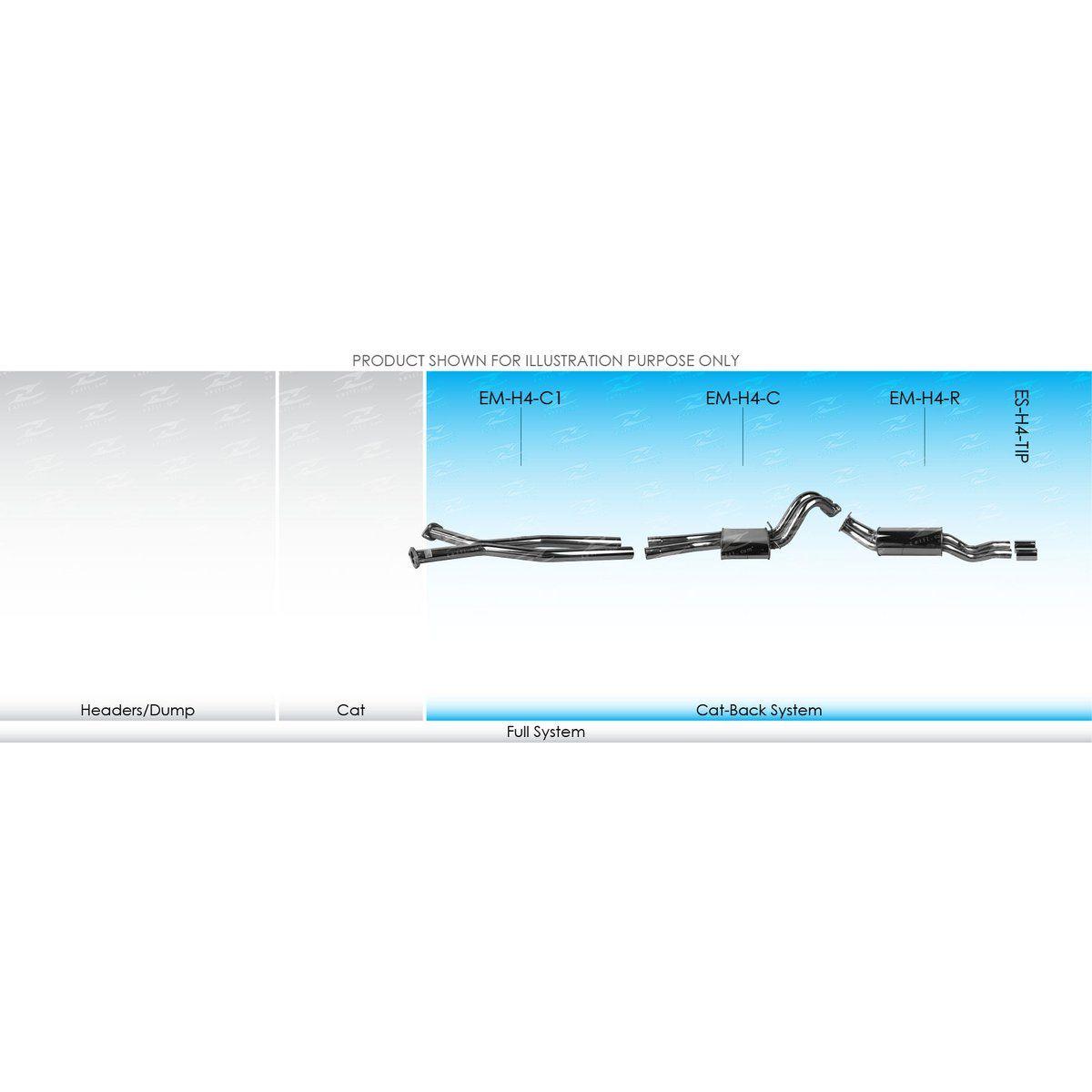 XForce Performance Mild Steel to suit Holden Crewman (01/2003 - 01/2007)