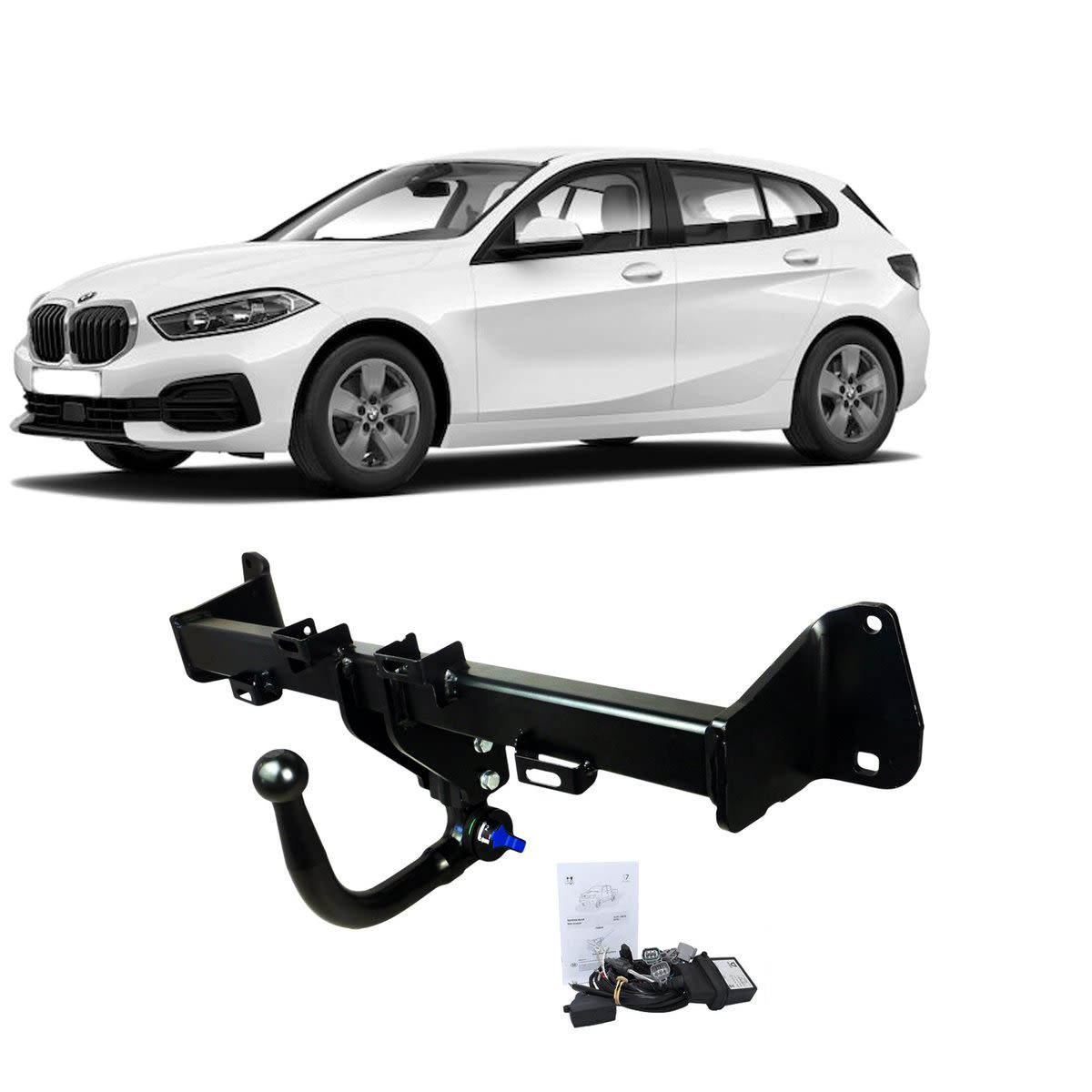 TAG Towbars European Style Tongue to suit BMW 1 (09/2011 - 02/2014)