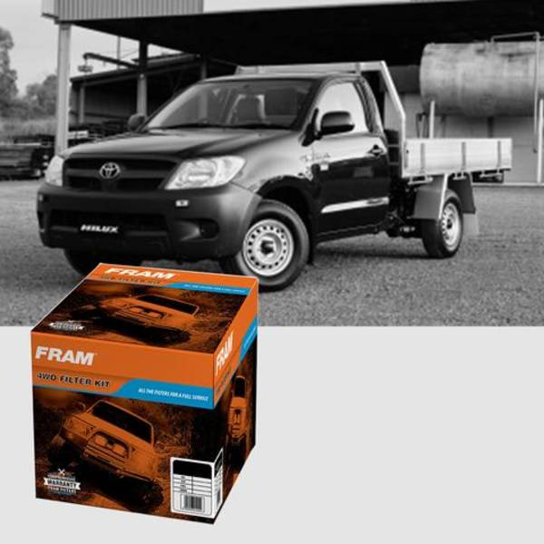 TOYOTA HILUX 2.7L (2TR-FE) CONTAINS PH4985A, CA9916, G10174, CF10322