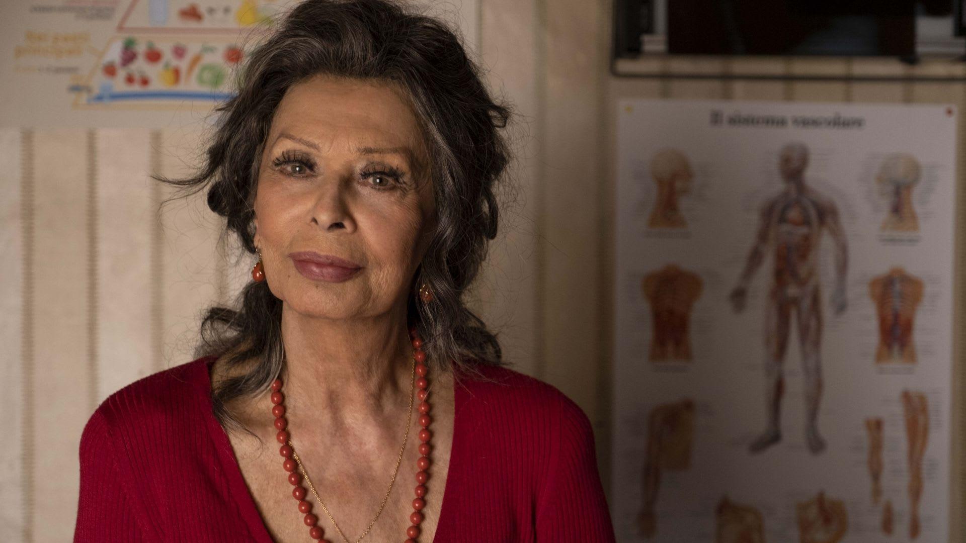 Sophia Loren di nuovo in gioco!