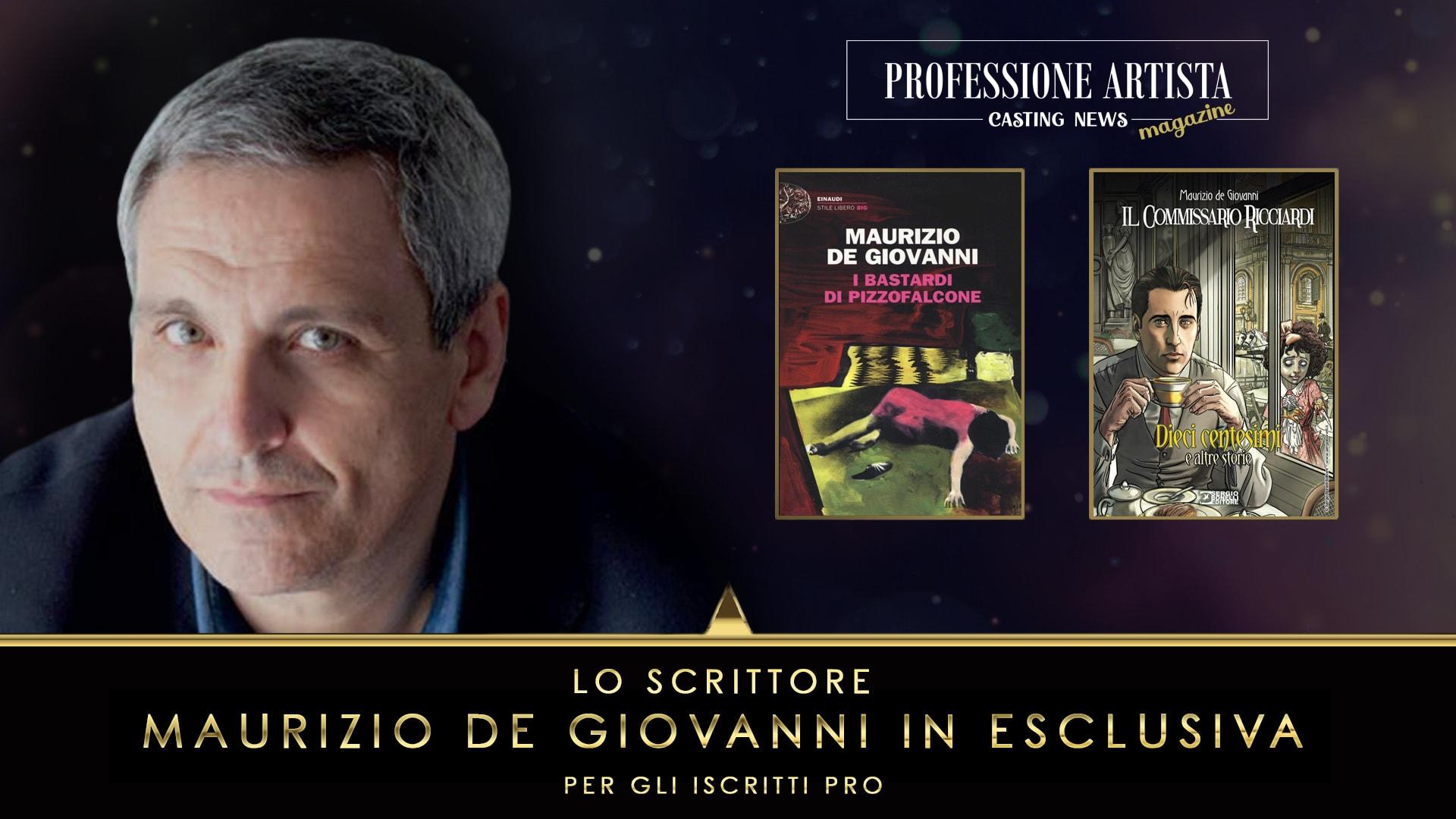 Scrittori e Sceneggiatori - Maurizio De Giovanni Novembre 2020
