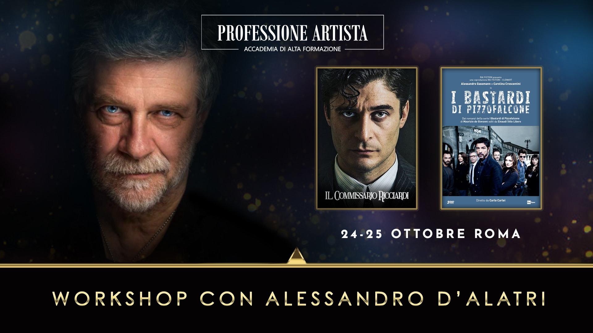 Attori - Alessandro D'Alatri Ottobre 2020