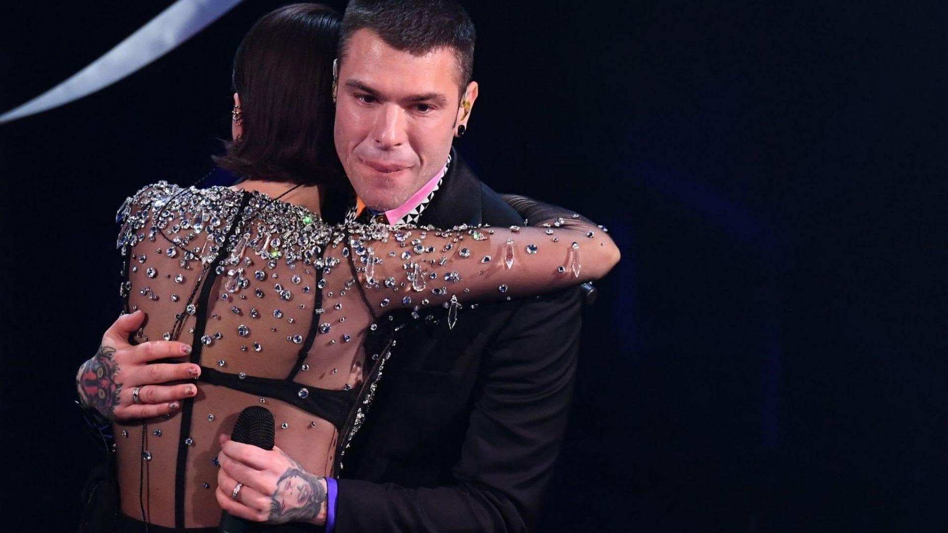 Fedez sul palco di Sanremo un emozione infinita