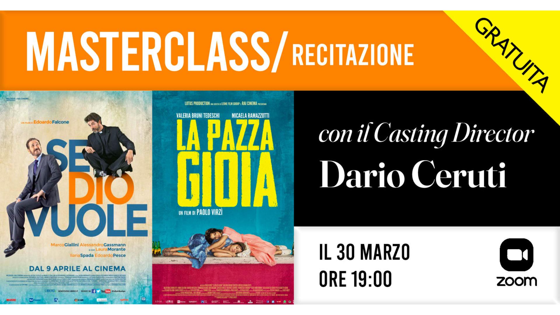 Attori - Dario Ceruti Marzo 2021