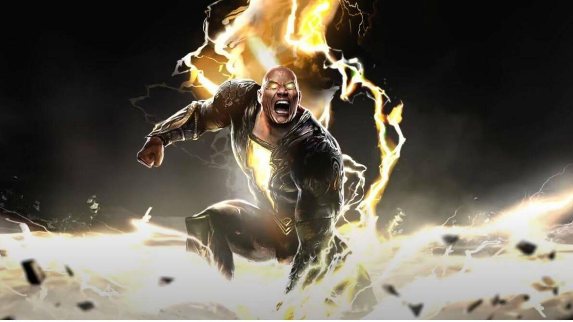 Black Adam: la trasformazione fisica di The Rock