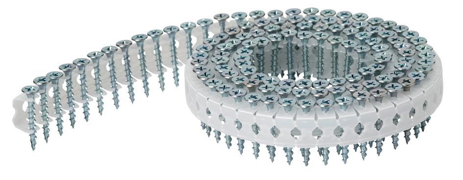 Paslode 123885 Spånskruv rundbandad GN EFZ 43 x 42 mm LCP65/LCP45.1 5400-pack