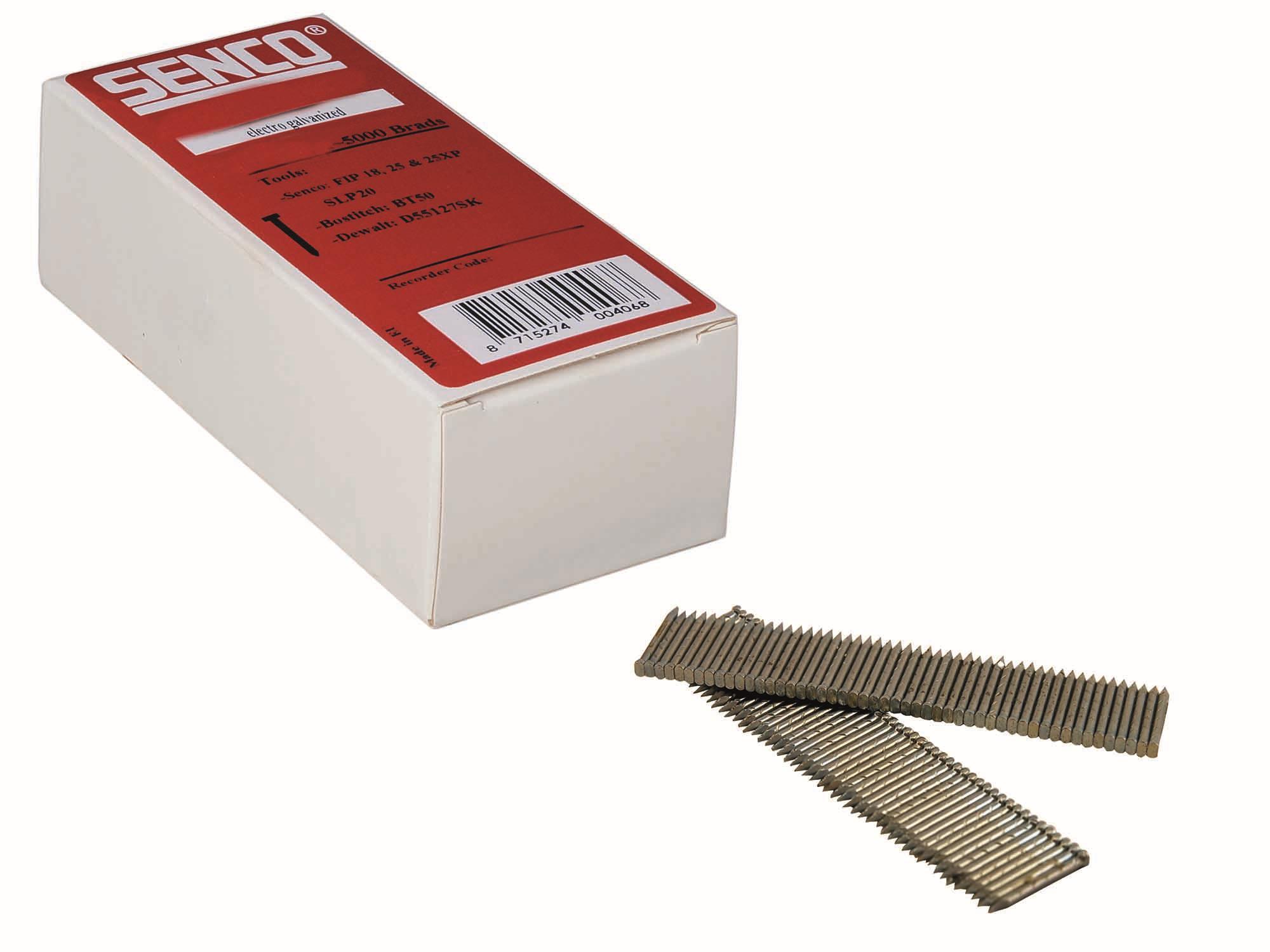 Senco AB60001 Betongdyckert galvaniserad 18 x 20 mm 3000-pack