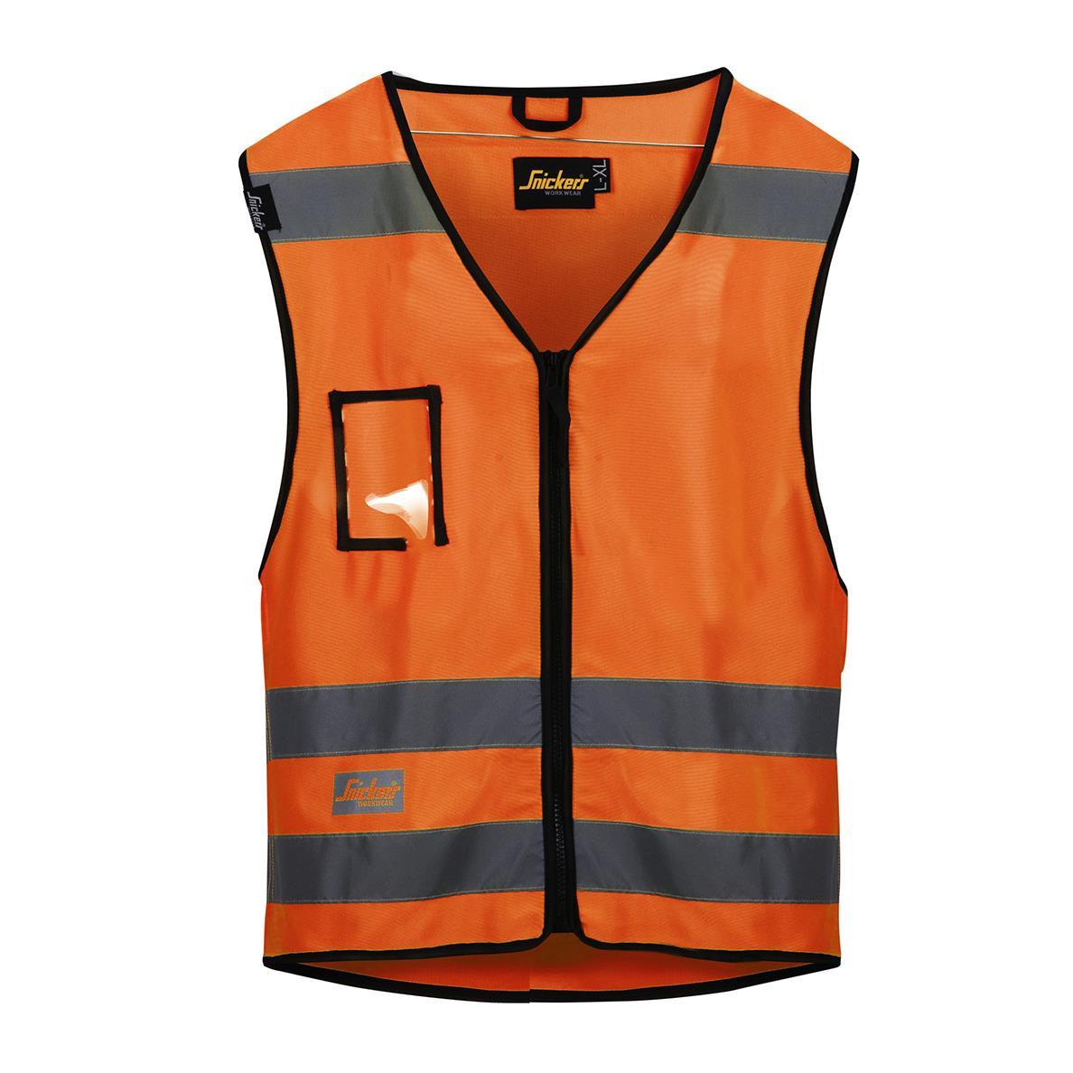 Snickers 9153 Väst varsel orange Strl L/XL