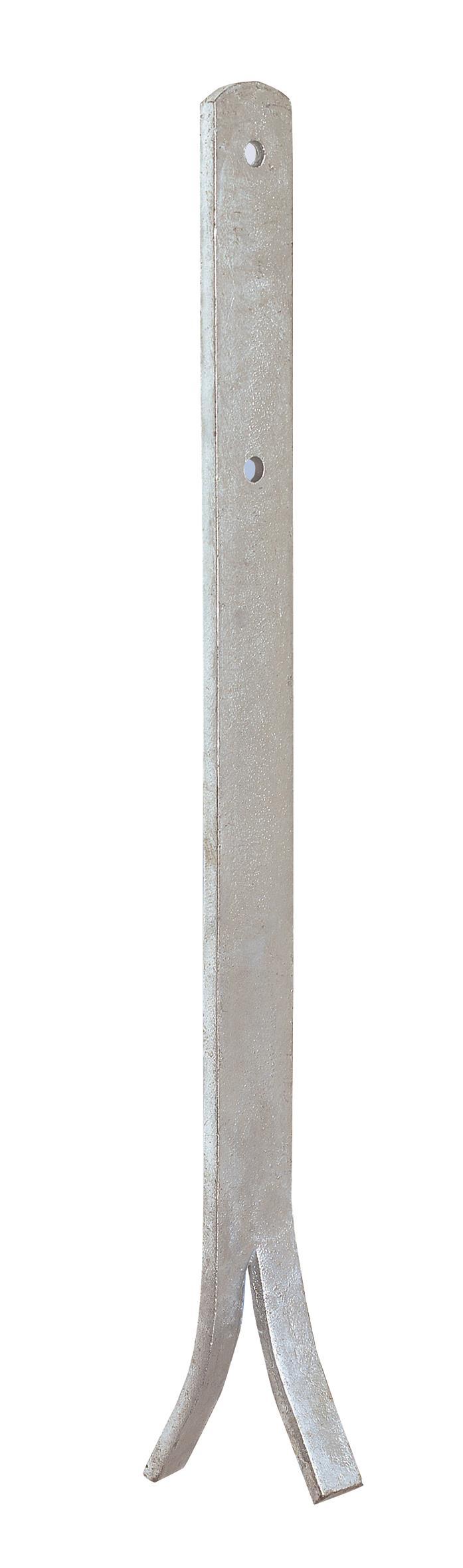 Joma 6140500 Stolpjärn 10-pack 40 x 500 x 8 x 12 mm