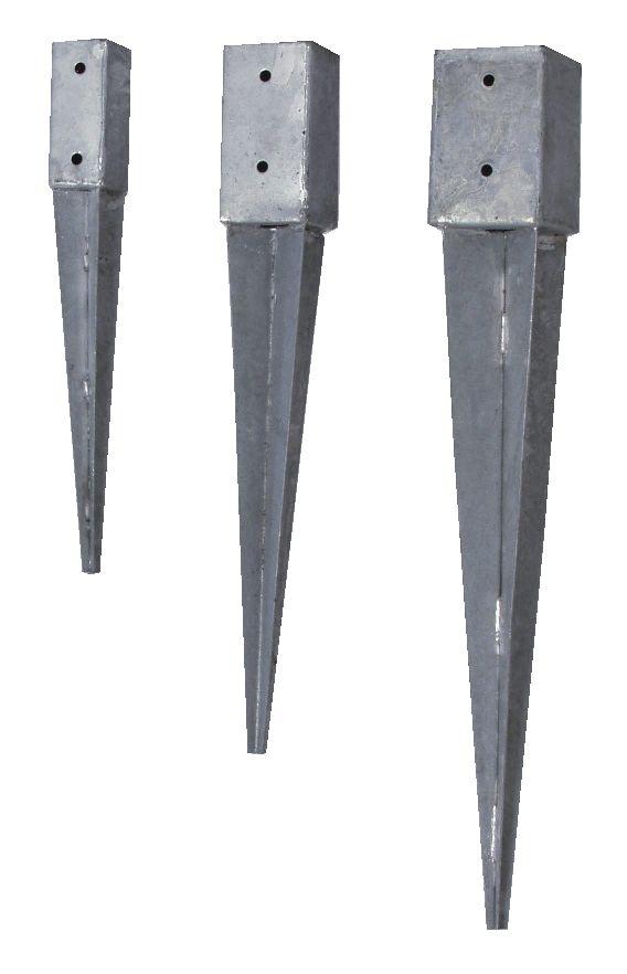 Joma 6127300 Stolpspjut 2 x 73 x 73 x 600 mm