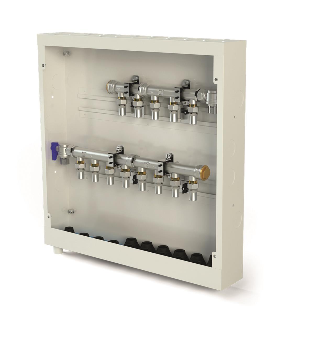 LK Systems 1881530 Prefabskåp  550 x 550 x 95 mm, UNI 8/5