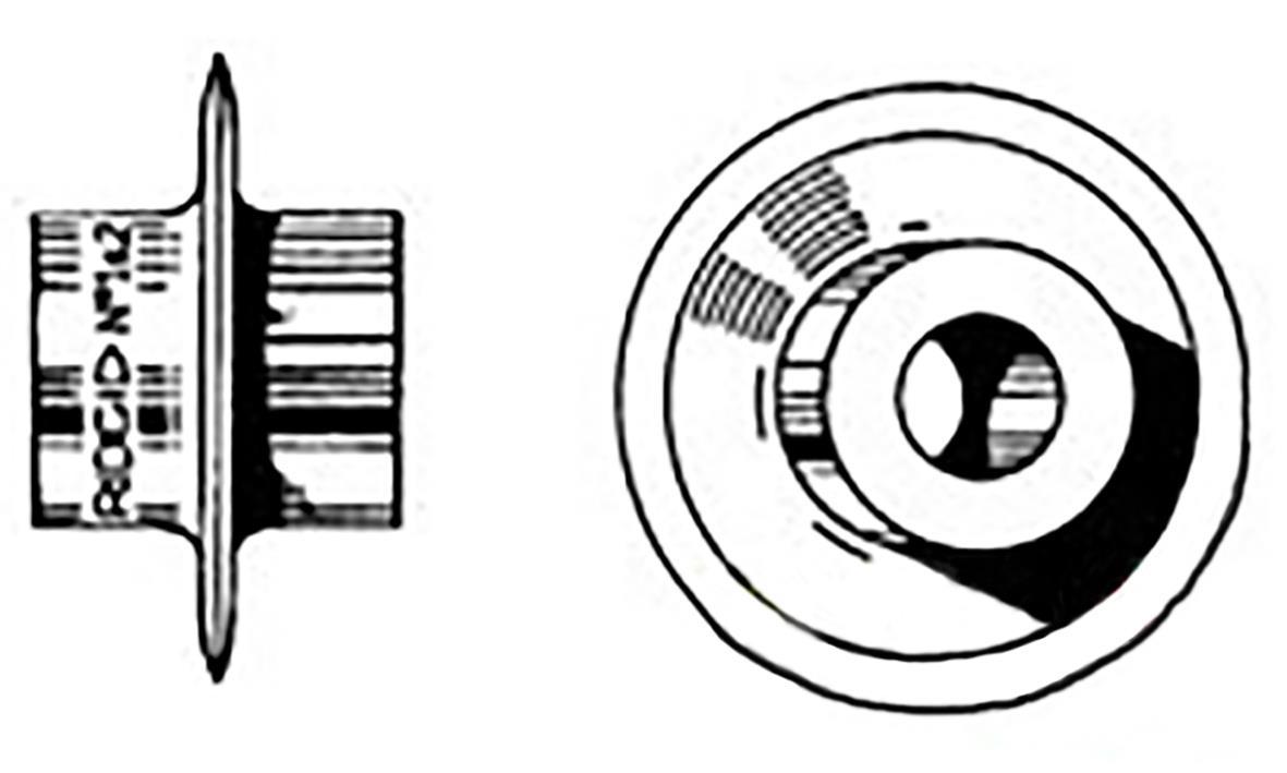Ridgid E947X Bult för Ridgid 101 150 205