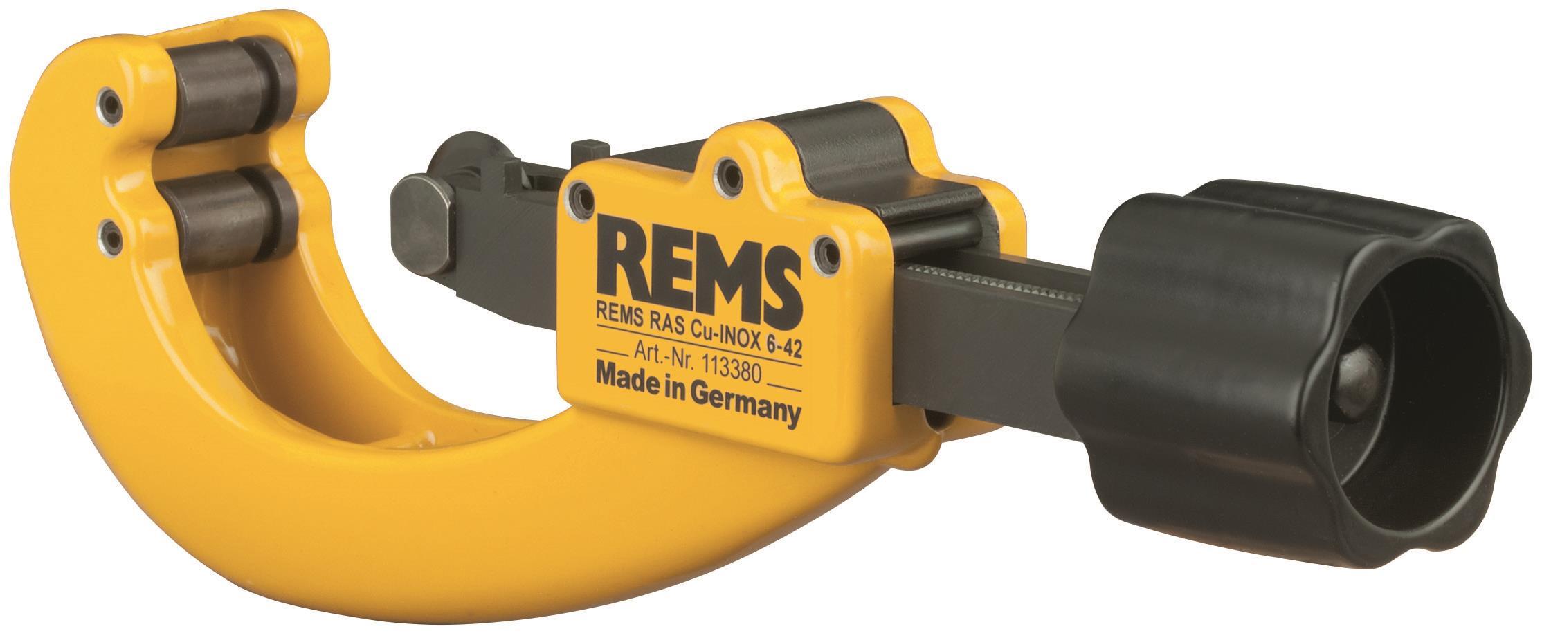 REMS RAS Cu-INOX Röravskärare med skärtrissa 6-42 mm