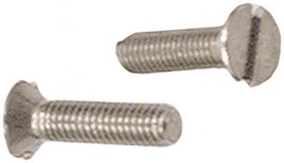Schäfer & Peters 09634520 Spårskruv M5 MFS A4 DIN 963 A M5 x 20 mm 500-pack