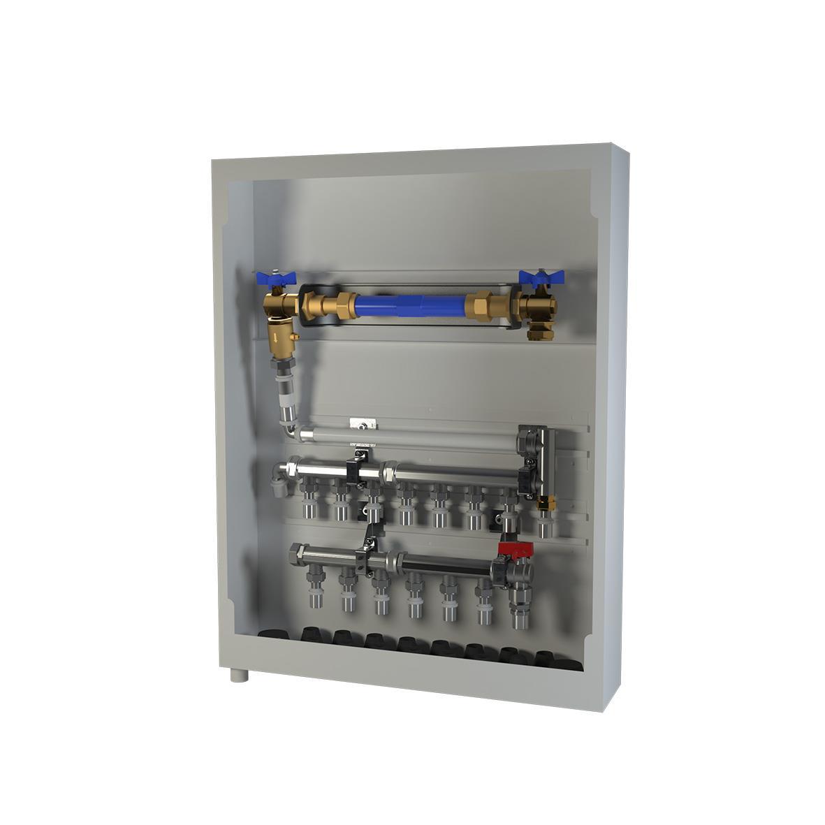 LK Systems 1882305 Vattenmätarskåp 550 x 550 mm Höger