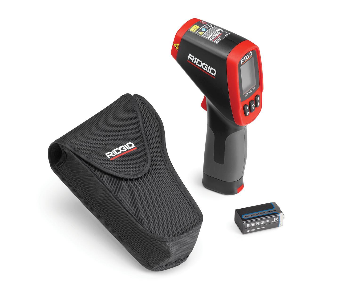 Ridgid IR-200 Termometer infraröd med batteri