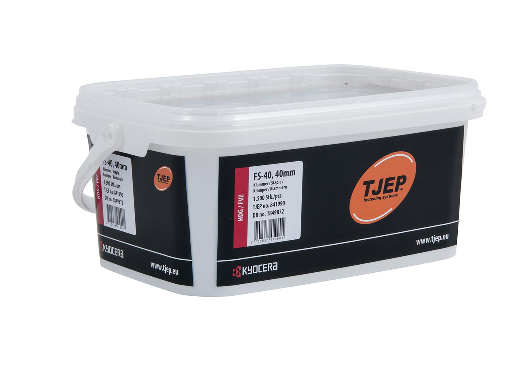 TJEP 841990 Klammer FS-40 FZV 1500-pack 315 x 40 mm