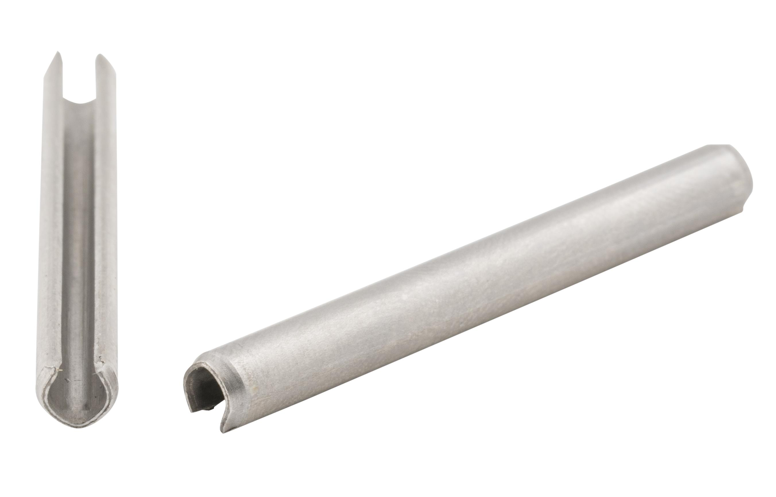 SPIROL ISO87526X16A2 Rörpinne 26 mm 1000-pack A2 ISO 8752 26 x 16 mm