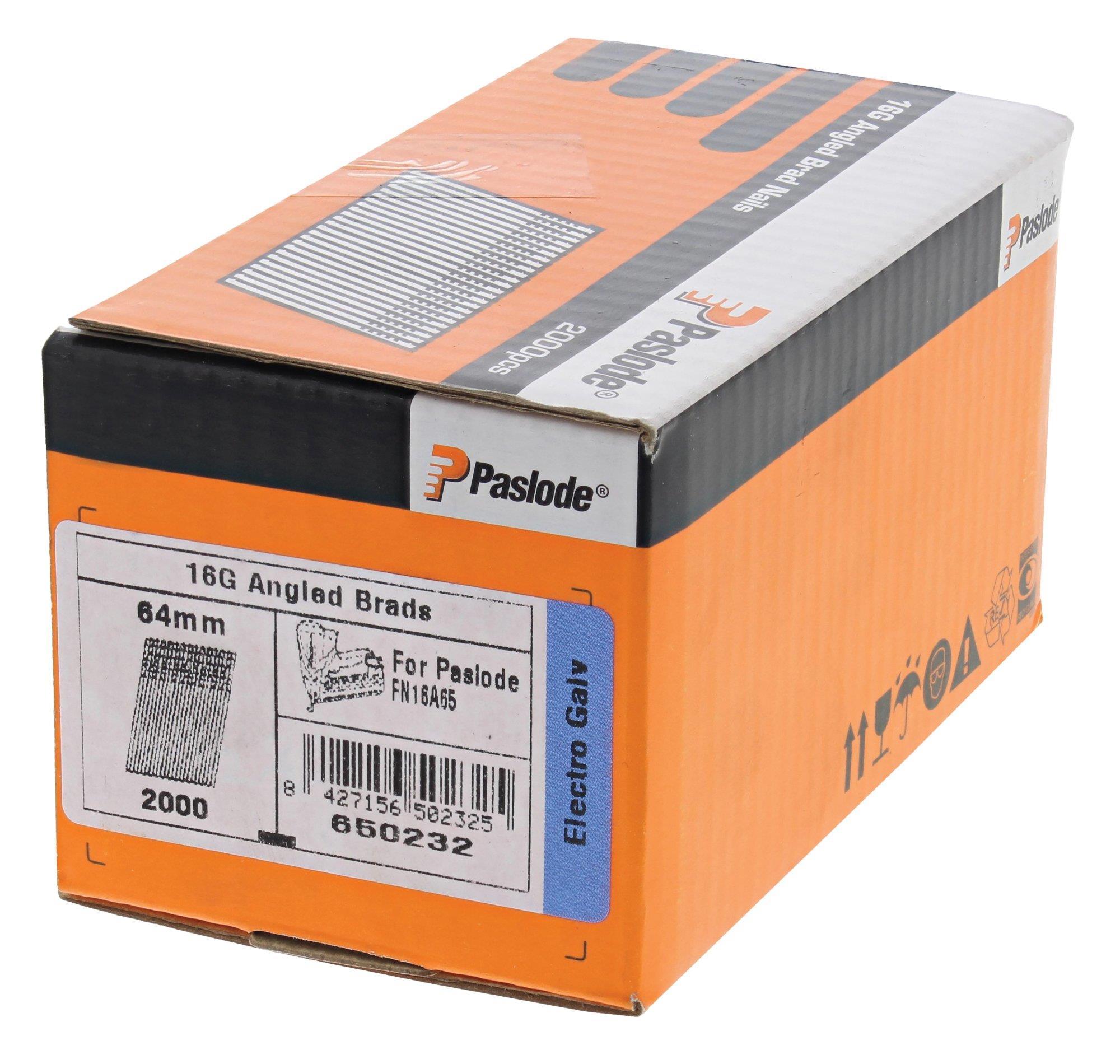 Paslode 650231 Dyckert AF16 FZB 2000-pack 38 mm