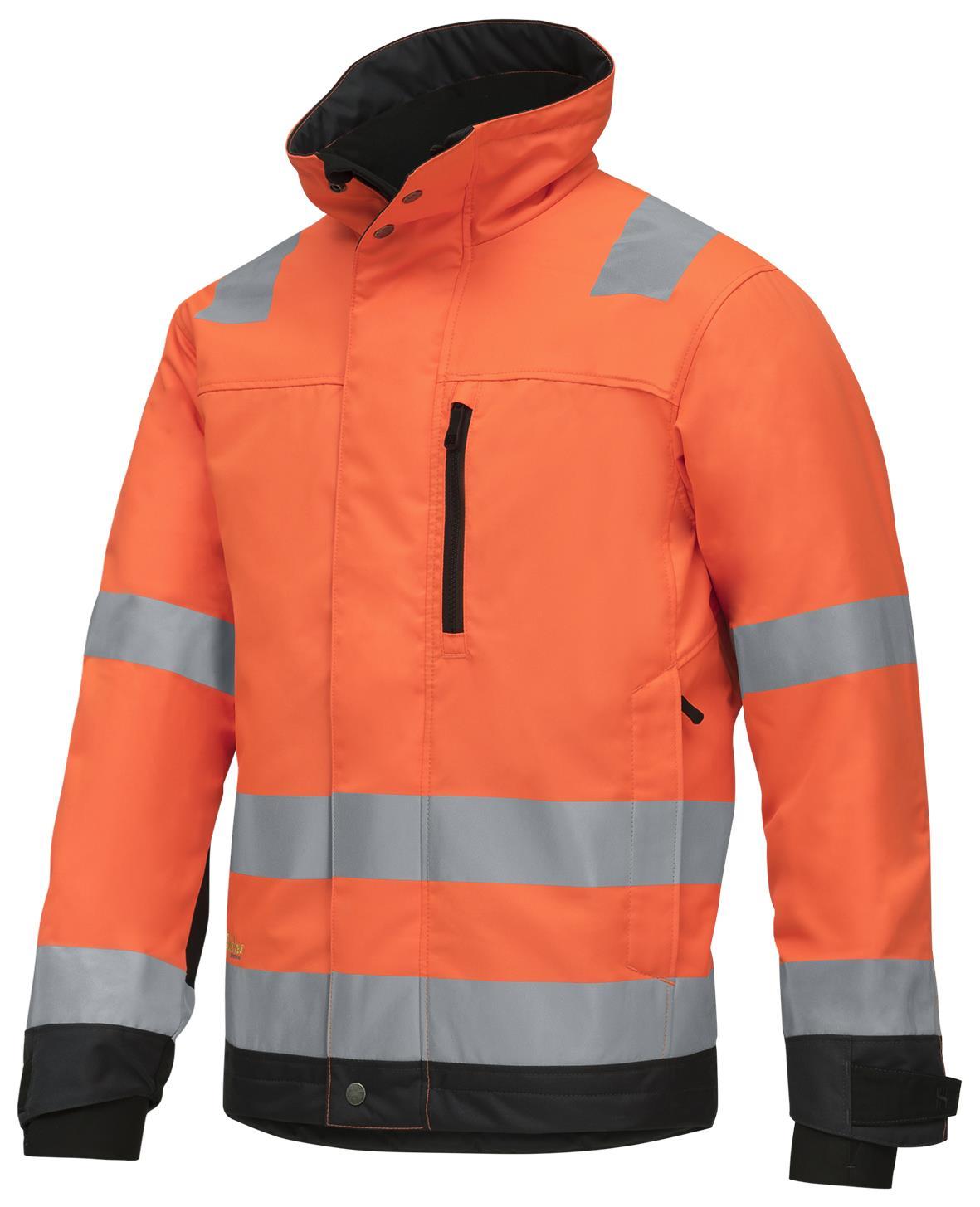 Snickers 1130 AllroundWork Jacka varsel orange Strl L