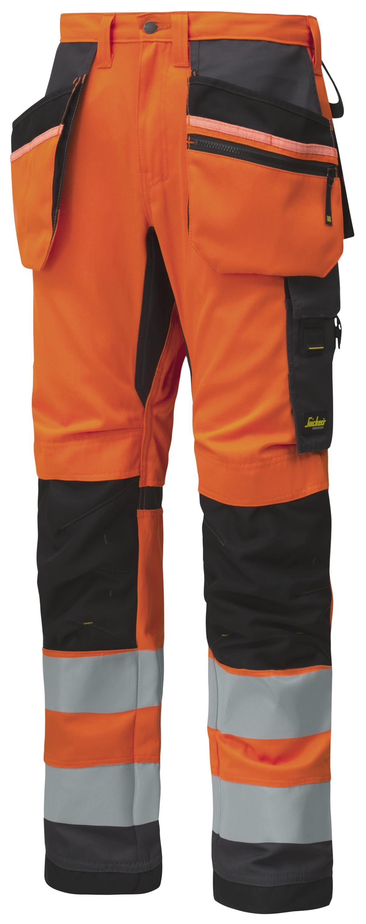 Snickers 6230 AllroundWork Byxa varsel orange Strl 58